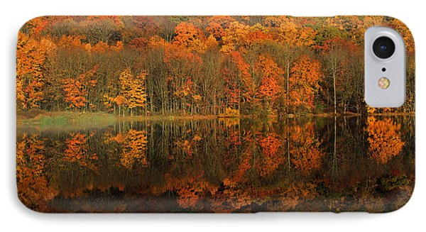 Autumns Colorful Reflection Phone Case by Karol Livote