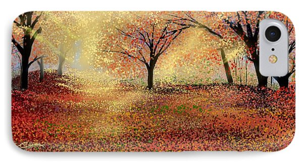Autumn's Colors IPhone Case by Anthony Fishburne