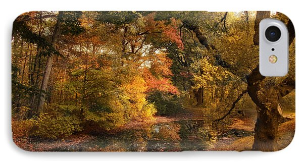 IPhone Case featuring the photograph Autumn's Edge by Jessica Jenney