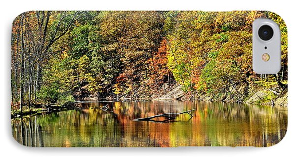 Autumns Glow IPhone Case by Frozen in Time Fine Art Photography