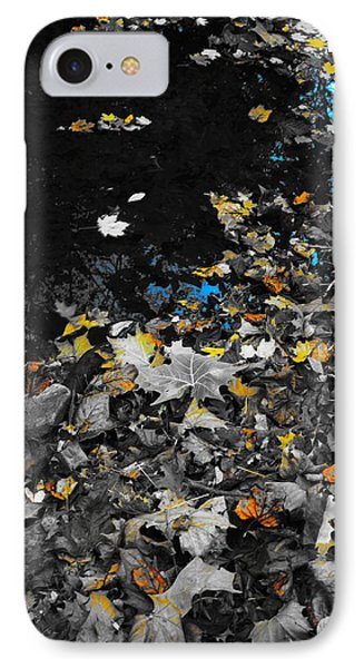 Autumn's Last Color IPhone Case by Photographic Arts And Design Studio