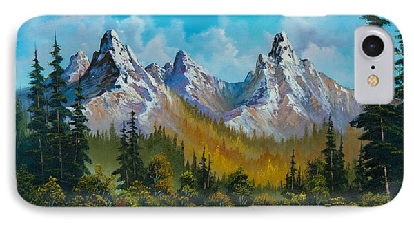 Autumn's Magnificence IPhone Case by C Steele
