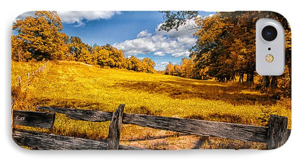 Autumns Pasture Phone Case by Bob Orsillo