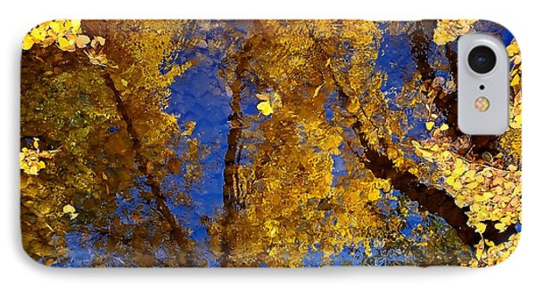 Autumns Reflections Phone Case by Steven Milner