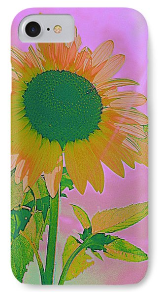 Autumn's Sunflower Pop Art IPhone Case