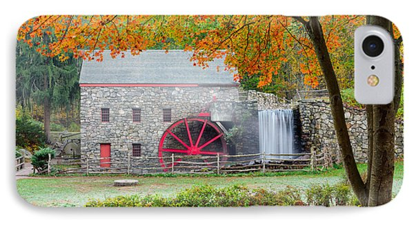 Auutmn At The Grist Mill Phone Case by Michael Blanchette
