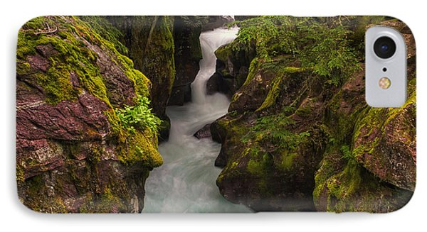 Avalanche Falls IPhone Case by Mark Kiver