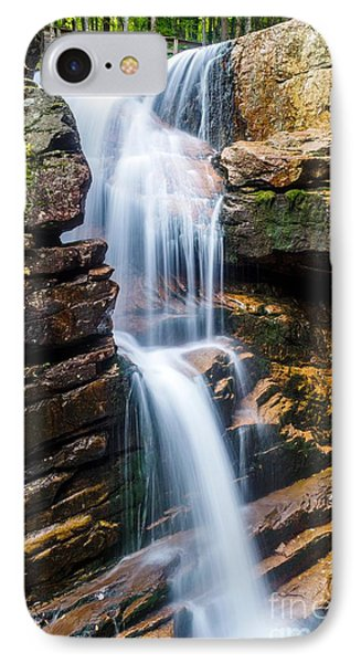 IPhone Case featuring the photograph Avalanche Falls2 by Mike Ste Marie