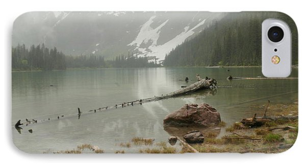 Avalanche Glacier National Park Phone Case by Jeff Swan