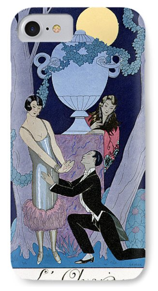 Avarice IPhone Case by Georges Barbier