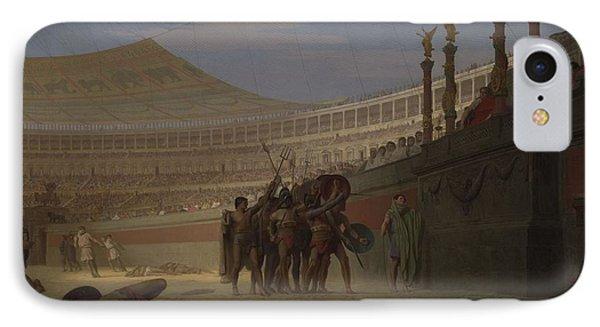 Ave Caesar Morituri Te Salutant , 1859 IPhone Case