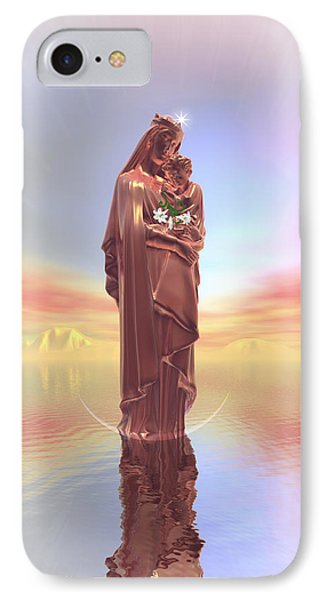 Ave Maria IPhone Case by Harald Dastis