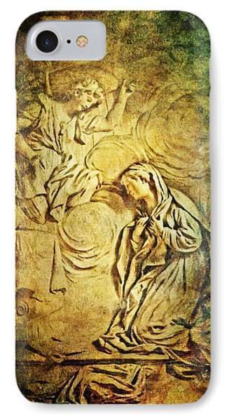 Ave Maria...gratia Plena Phone Case by Lianne Schneider