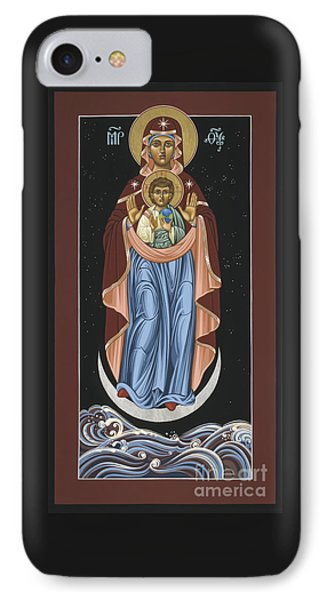 IPhone Case featuring the painting Ave Maris Stella  Hail Star Of The Sea 044 by William Hart McNichols