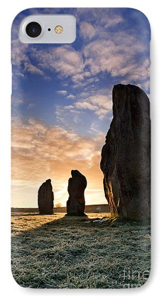 Avebury Stone Circle 2 IPhone Case by Rod McLean