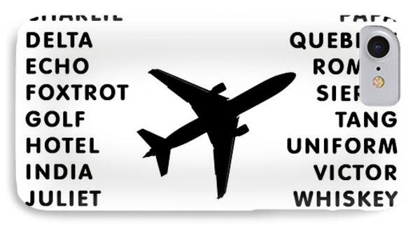 Aviation Code IPhone Case