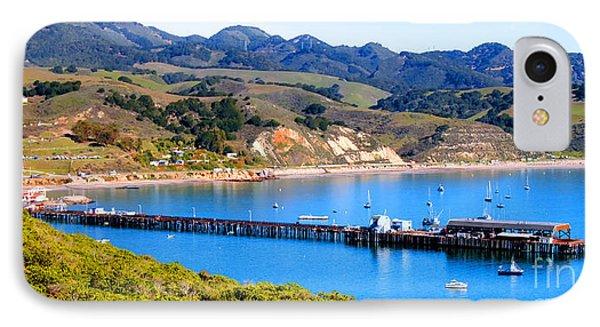 Avila Beach California Fishing Pier IPhone Case