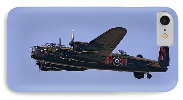 Avro 638 Lancaster At The Royal International Air Tattoo IPhone Case by Paul Fearn