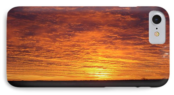 IPhone Case featuring the photograph Awaiting The Dawn by J L Zarek