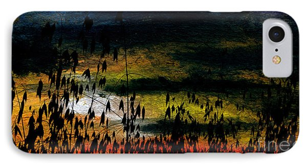 Awaiting The Harvest Phone Case by R Kyllo