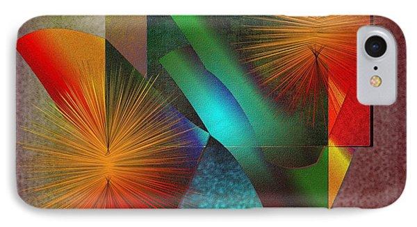 IPhone Case featuring the digital art Awake by Iris Gelbart