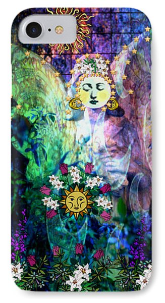 IPhone Case featuring the digital art Awakening by Mary Anne Ritchie