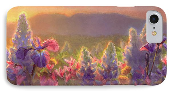 Awakening - Mt Susitna Spring - Sleeping Lady IPhone Case