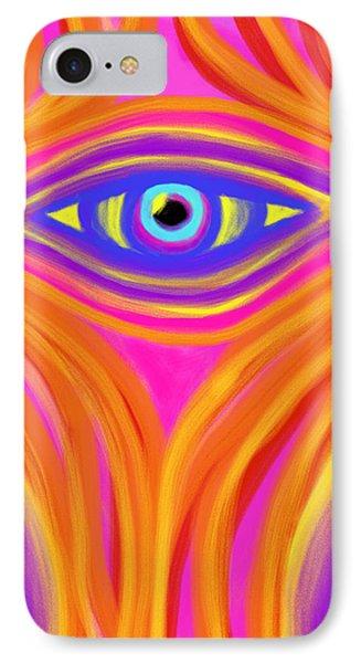 Awakening The Desert Eye IPhone Case by Daina White