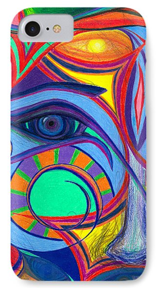 Awakening To Thy True Self Phone Case by Daina White