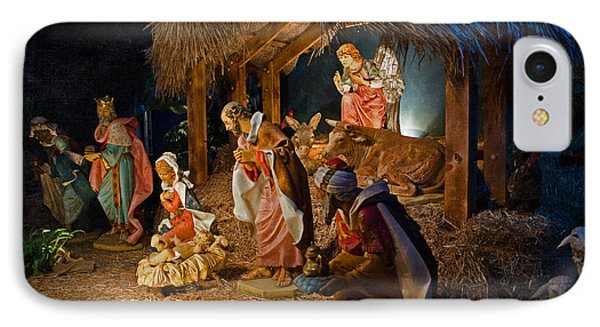 Away In The Manger  Phone Case by Susan  McMenamin