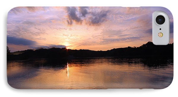 Awesome Sunset IPhone Case by Lorna Rogers Photography