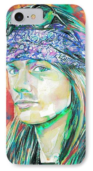 Axl Rose Portrait.2 IPhone Case