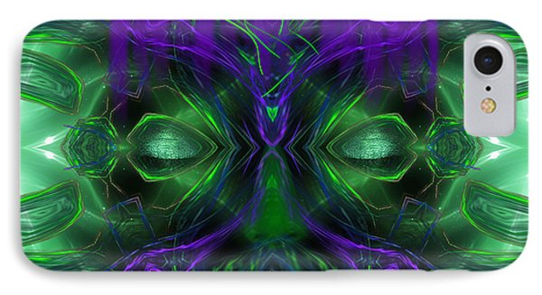 Ayahuasca Experience - Fantasy Art By Giada Rossi IPhone Case by Giada Rossi