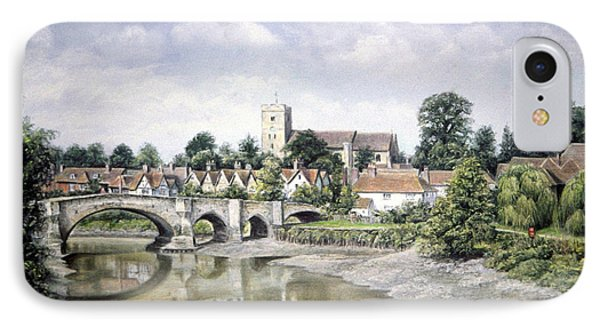 Aylesford Bridge IPhone Case by Rosemary Colyer