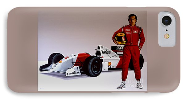 Ayrton Senna IPhone Case by Paul Meijering