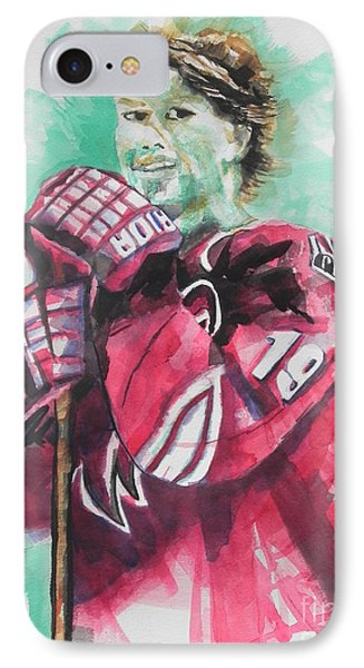 Az Coyotes ...hockey Player Shane Doan Phone Case by Chrisann Ellis