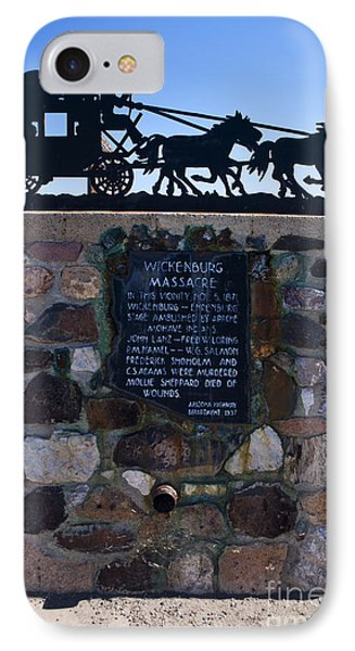 Az007 - Wickenburg Massacre IPhone Case by Jason O Watson