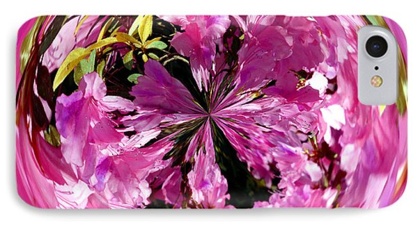 Azalea Orb IIi Phone Case by Jeff McJunkin