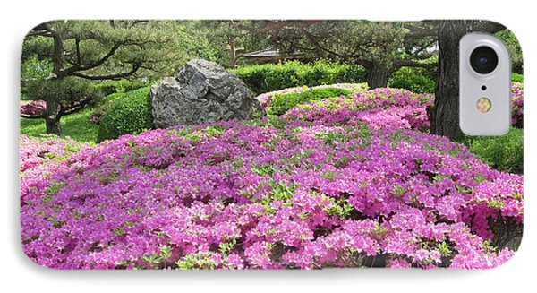 IPhone Case featuring the photograph Azalea Path by Kathie Chicoine