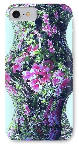 Azalea Vase IPhone Case by Pamela Hyde Wilson