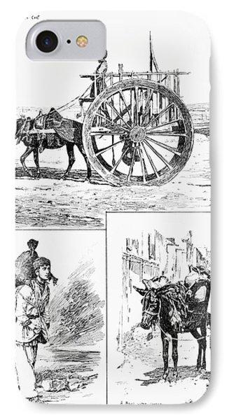 Azerbaijan Baku, 1890 IPhone Case by Granger
