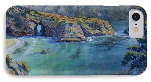 Azure Cove Phone Case by Heather Coen