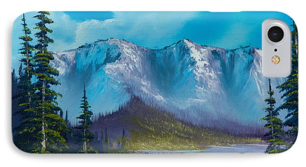 Azure Ridge IPhone Case by C Steele