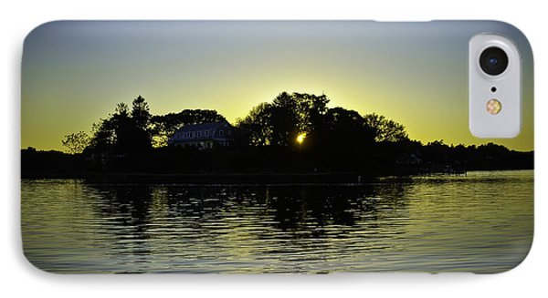 Azure Sunset At Onset Bay Phone Case by LA Beaulieu