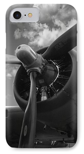 B-17 Engine IPhone Case