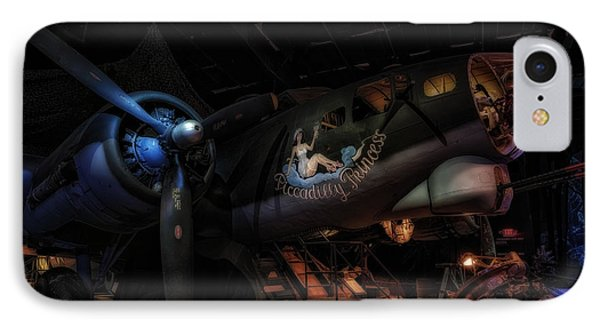 B-17 Exhibit In Hdr IPhone Case by Michael White