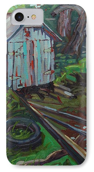 B And B Flip Side IPhone Case by Phil Chadwick