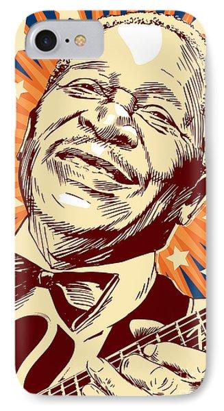 B. B. King IPhone Case by Jim Zahniser