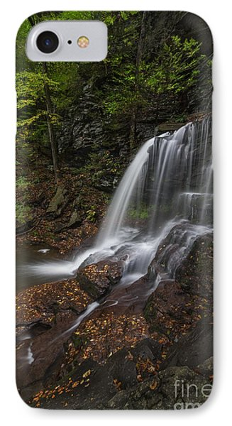 IPhone Case featuring the photograph B Reynolds Falls by Roman Kurywczak
