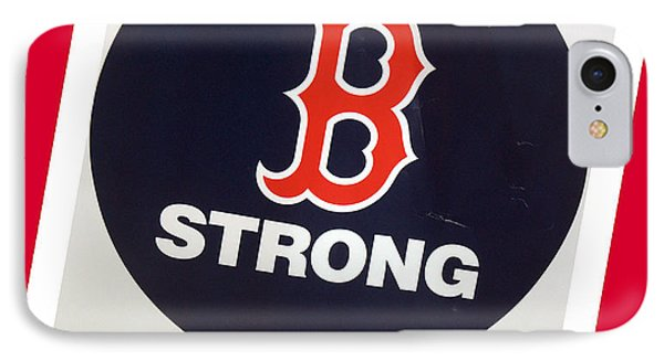 B Strong Red White And Blue IPhone Case